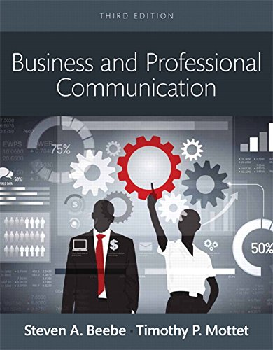 Business and Professional Communication -- Books a la Carte (3rd Edition)