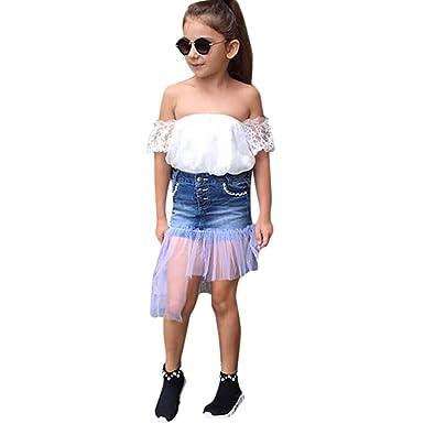 Amazon.com: Fineser - Conjunto de ropa para niños y niñas de ...