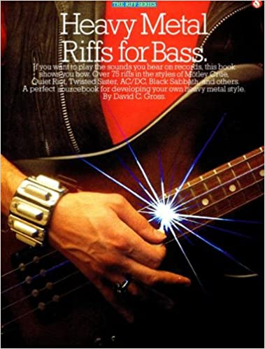 Book Heavy Metal Riffs for Bass: A Perfect Sourcebook for Developing Your Own Heavy Metal Style