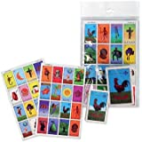 Loteria Game - Mexican Bingo - 10 Tablas - Fun and Educational - Have FUN and