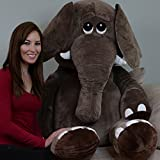 Yesbears 5 Feet Giant Elephant (Microfiber Body)