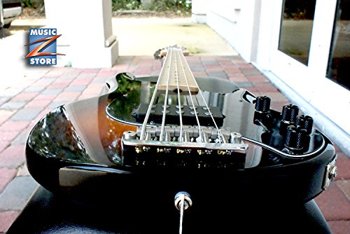 Ernie Ball Music Man StingRay SR 5 H Vintage Sunburst. Made in USA, Original Hardshell case! Brand New! FREE US Shipping! ()