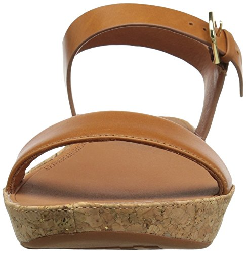 FitFlop Women's Bon II Back-Strap Sandals Medical Professional Shoe, Caramel, 9 M US by FitFlop (Image #4)