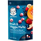 Gerber Fruit & Veggie Melts, Very Berry Blend, 1 Ounce