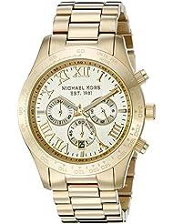 Michael Kors Mens Layton Gold-Tone Watch MK8214