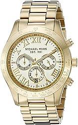 Michael Kors Men's MK8214 Layton Gold-Tone Watch