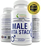 * MALE VITA STACK * With Testosterone Booster, Prostate Complex,...