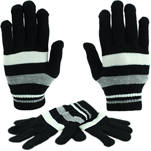 Knit Gloves Pair Size Fits
