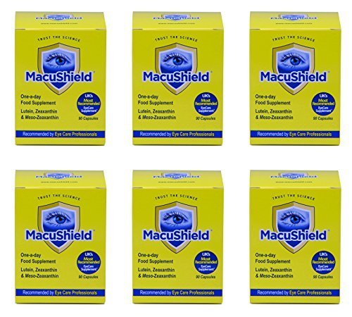 (6 PACK) - Macushield Macushield Capsules | 90s | 6 PACK - SUPER SAVER - SAVE MONEY by Hampton Brands Ltd