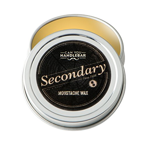 Can You Handlebar All-Natural Secondary Moustache Wax : Extra Strength, Firm Hold (Men Moustache)