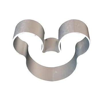 5pcs ratón molde para galletas con forma de acero inoxidable de grado de alimentos molde cortador de galletas: Amazon.es: Hogar