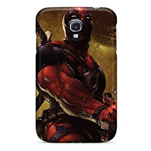 Perfect Hard Phone Cover For Samsung Galaxy S4 With Provide Private Custom Stylish Deadpool I4 Pictures RichardBingley
