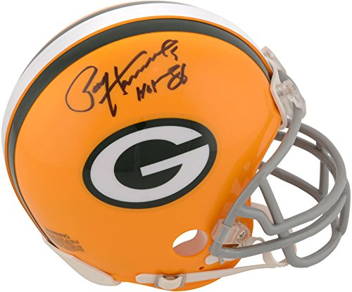 Paul Hornung Green Bay Packers Autographed Riddell Throwback Mini Helmet with