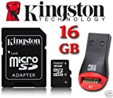 Kingston 16GB Micro SDHC Memory Card for Doro 8030, Doro 6520, Doro Liberto 820, Doro Liberto 650, Doro PhoneEasy 631, Doro PhoneEasy 740, Doro PhoneEasy 610, Doro PhoneEasy 612, Doro Liberto 810, Doro PhoneEasy 632, Doro PhoneEasy 624, Doro PhoneEasy 622, Doro PhoneEasy 621, Doro PhoneEasy 611, Doro PhoneEasy 607 (Micro SD, SD adapter)