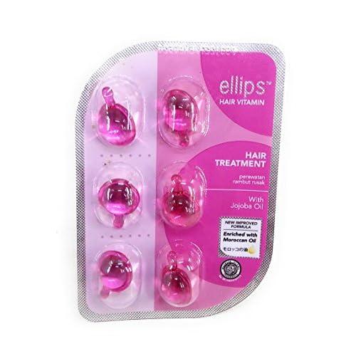 Ellips Hair Vitamin (Moroccan Oil) - Hair Treatment, 6 Blister (@ 6 Capsule) for sale