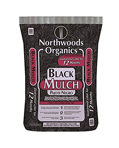 Waupaca Northwoods WNW03252 Mulch/Seed and Fertilizer, Black
