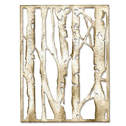 Sizzix 660994 Thinlits Die, Birch Trees by Tim Holtz Ellison