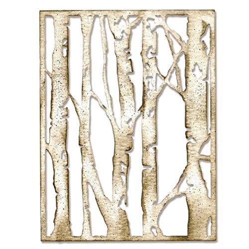 Sizzix 660994 Thinlits Die, Birch Trees by Tim Holtz Ellison