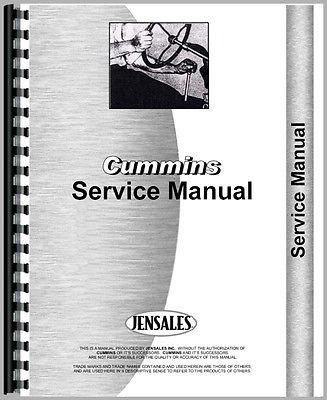 cummins service manual free download