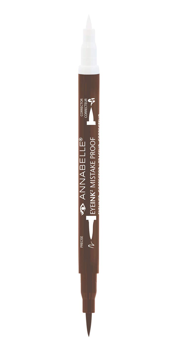 Annabelle EyeInk2 Mistake-Proof Eyeliner + Corrector, Black, 1.5 mL Groupe Marcelle Inc.