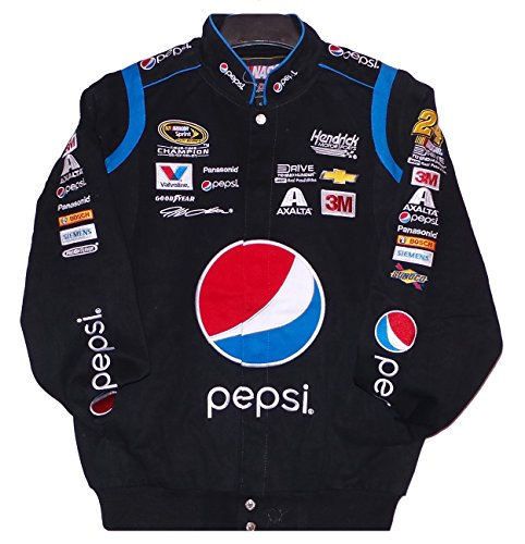 J.H. Design Jeff Gordon Pepsi NASCAR Jacket Size 3XLarge