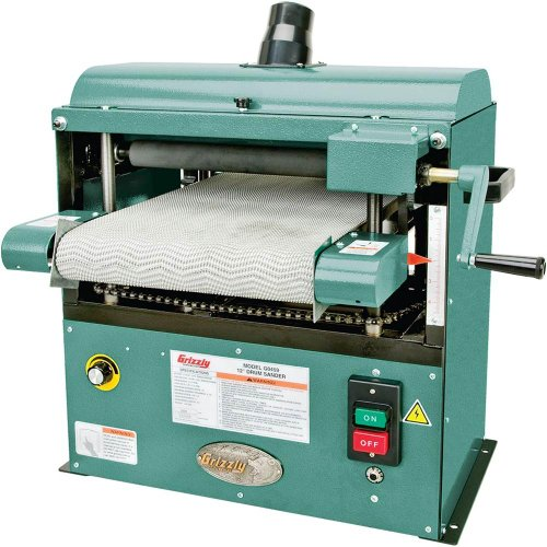Grizzly G0459 Baby Drum Sander, 12-Inch