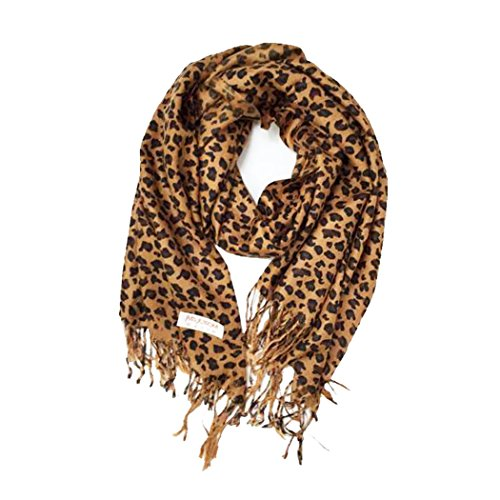 Paskmlna Animal Fringed Shoulder Pashmina product image