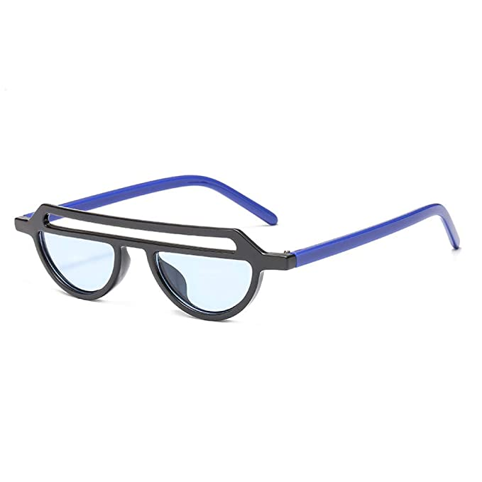 Yangjing-hl Gafas Personalidad ahuecada Caja pequeña Gafas ...