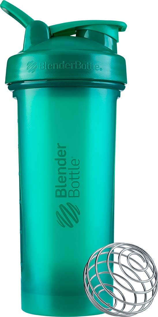 BlenderBottle Classic V2 Shaker Bottle, 28-Ounce, Emerald Green