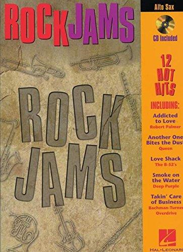 ROCK JAMS ALTO SAX CD/PKG (Pkg Rock)