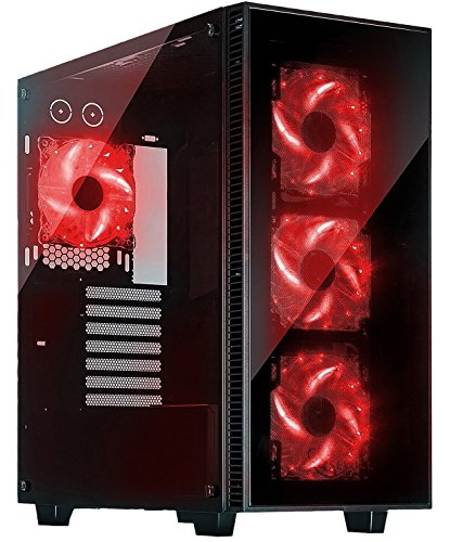 ROSEWILL Computer Tempered Support CULLINAN RED