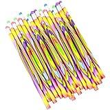 Colorful Tie Dye Pencils For School Supplies And Classroom Rewards - 24 Pencils