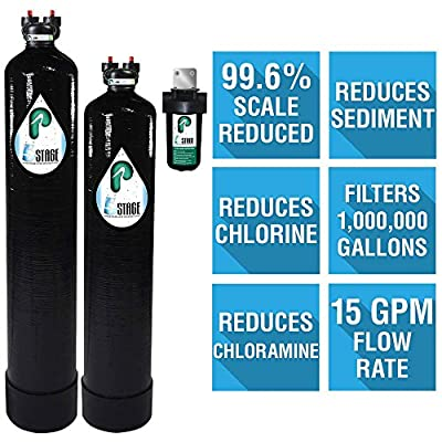 Pelican Water 5-Stage Water Filtration and Softening System for 5 Bathrooms