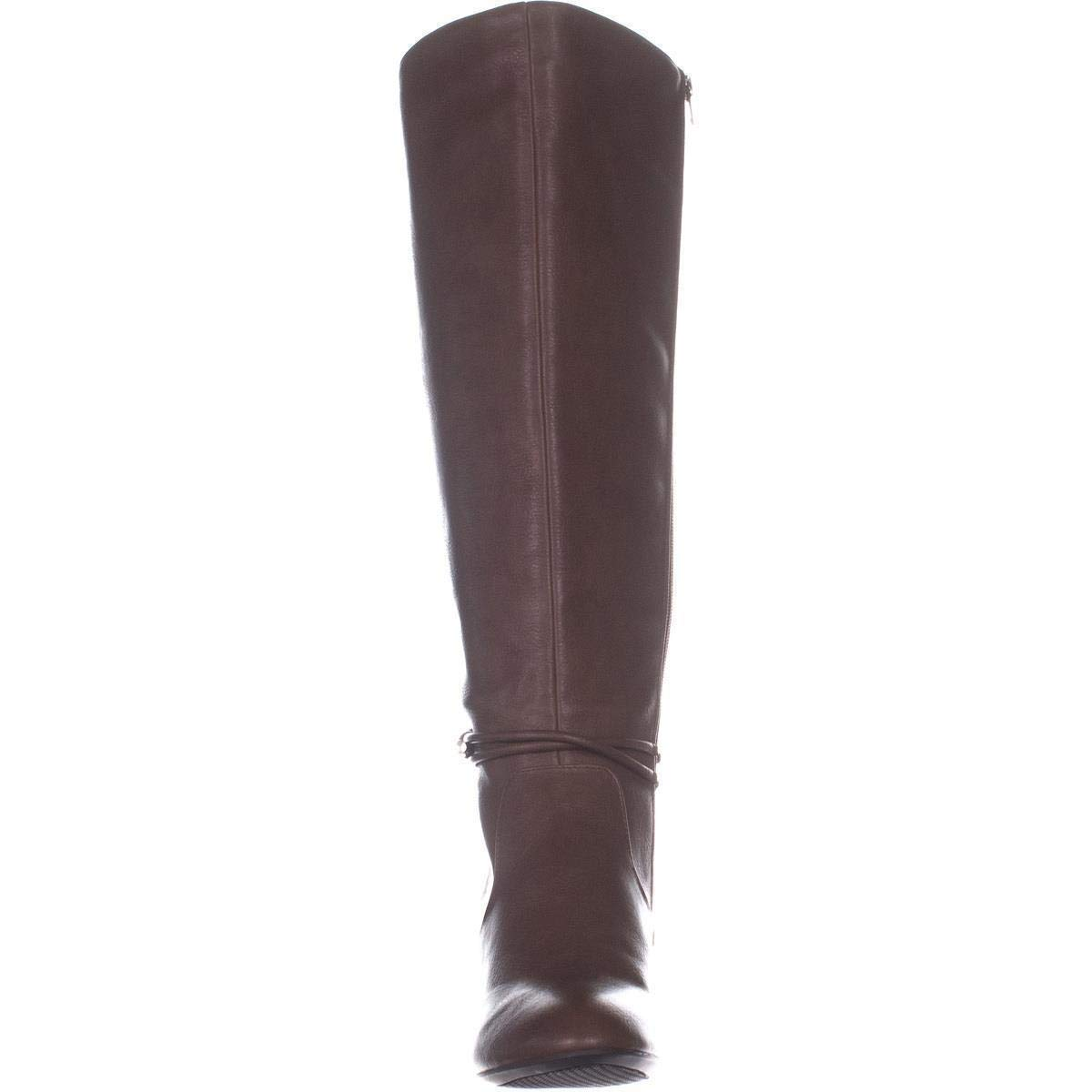 Alfani Womens giliann Closed Toe Knee High Fashion Boots Size 11.0 congac