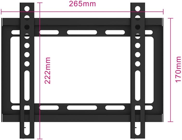 Ewent EW1520 Supporto da Parete per TV//Monitor da 13 a 42 Pollici con Braccio Snodabile e Orientabile Vesa Fino a 200 x 200 mm Nero