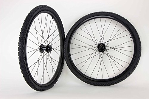 26 inch Maddux Mountain Comfort Bike Bicycle Wheels with Kenda Kobra Tires and Tubes by roundhouse2200wheels