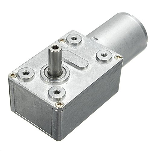Hitommy Dc 12V 35/60/65/110/220Rpm Worm Gear Box Reduction Motor - 35
