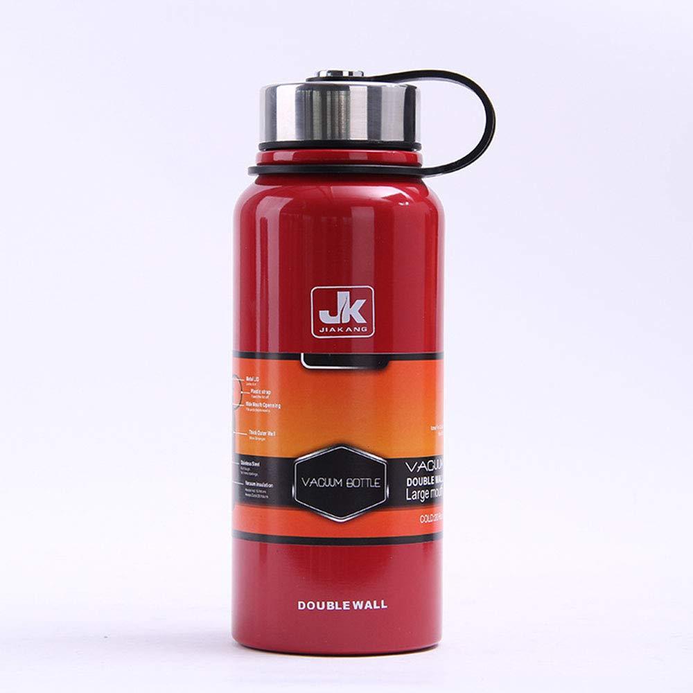 Edelstahl Edelstahl Edelstahl Kettle Sports Bottle Portable für die Arbeit Gym Outdoor Travel große Kapazität B07PZ7VXNS | Praktisch Und Wirtschaftlich  d7ade6
