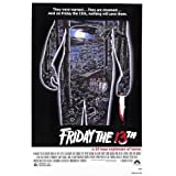 Friday The 13th (1980) - Horror Movie Poster (24 x 36 inches)