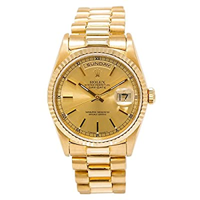 Rolex Day-Date Swiss-Automatic Mens Watch 18238 (Certified Pre-Owned) by Rolex