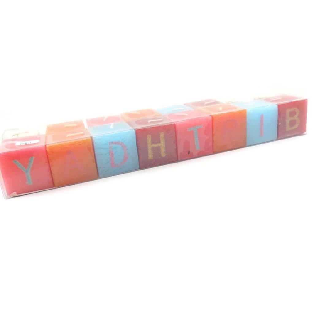 Les Trésors De Lily J7858 - Bougie spéciale message 'Happy Birthday' Les Tresors de Lily 110102FAN012013J785800