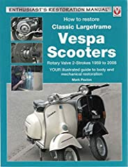 2-stroke Vespa is a style icon -an undoubted classic, and an immediately recognised symbol of its native Italy. Demand for these stylish scooters is booming, and interest in restoring and renovating them is at an all-time hig...