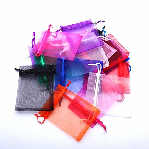 PEWELL 50 3X4 Organza Gift Bag Gift bags Jewelry Pouch Wedding Favor NEW