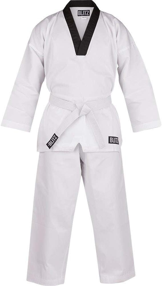 Blitz Mens V-neck Martial Arts Suit