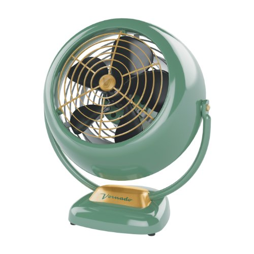 Vornado VFAN Vintage Air Circulator Fan, Green (Vintage Style Fan)