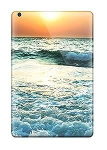 8168698J21772781 Flexible Tpu Back Case Cover For Ipad Mini 2 - Sunset Near Sea