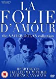 La Folie D'amour: The Xavier Dolan Collection - 3-DVD Box Set ( J'ai tué ma mère / Les amours imaginaires / Laurence Anyways ) ( I Killed My Moth [ NON-USA FORMAT, PAL, Reg.2 Import - United Kingdom ]