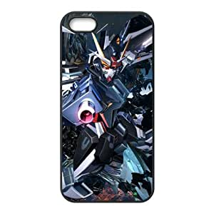 FindIt Japanese Anime Series Popular And Multicolor Mobile Suit Gundam 00 Durable Rubber Case Cover For Apple iPhone 5/5s