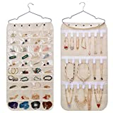 SPIKG Hanging Jewelry Organizer, Dual Sided 40