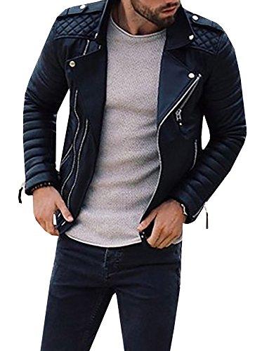 Mens Biker Jackets Fashion - 4